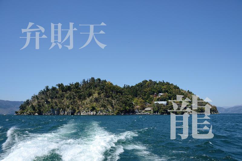 竹生島 弁財天 龍